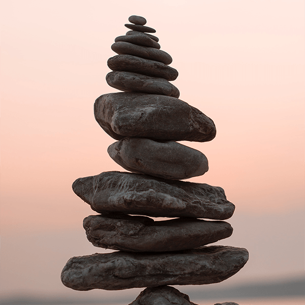 coaching stacked stones